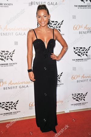Tia Blanco arrives at The Humane Society Of The United States 60th Anniversary Benefit Gala, in Beverly Hills, Calif
