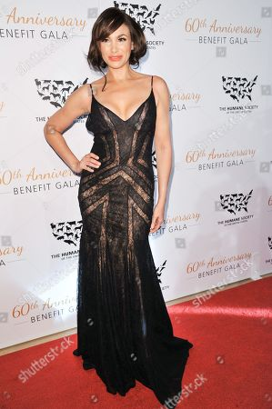 Patricia De Leon arrives at The Humane Society Of The United States 60th Anniversary Benefit Gala, in Beverly Hills, Calif
