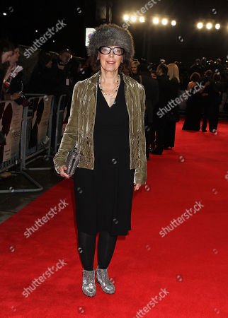 English Actress Claire Tomalin attending the UK Premiere of The Invisible Woman at the Odeon Kensington in London
