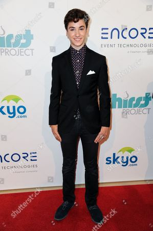 Teo Halm arrives at The Thirst Project's Annual Gala held at the Beverly Hilton Hotel, in Los Angeles