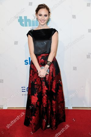 Ella Wahlestedt arrives at The Thirst Project's Annual Gala held at the Beverly Hilton Hotel, in Los Angeles