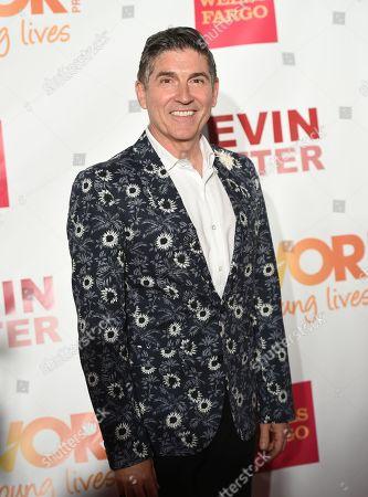 Stock Image of The Trevor Project founder James Lecesne attends TrevorLIVE New York to benefit The Trevor Project at the Marriott Marquis, in New York