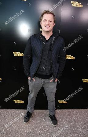 Skyler Stone seen at Twentieth Century Fox 'Walking with Dinosaurs' Press Event, on Thursday, Dec, 12, 2013 in Los Angeles