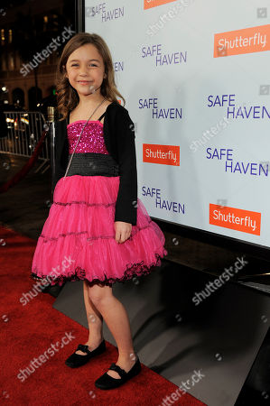 Editorial image of US Premiere of Safe Haven, Los Angeles, USA - 5 Feb 2013