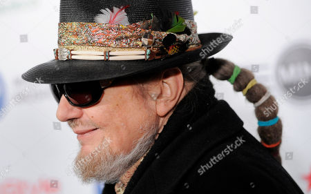 Dr John  arrives at the Warner Music Group 2013 Grammy Celebration at the Chateau Marmont on in West Hollywood, Calif