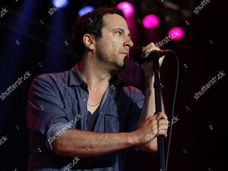Country artist Will Hoge opened for Alabama at Verizon Wireless Amphitheater on in Alpharetta, Ga