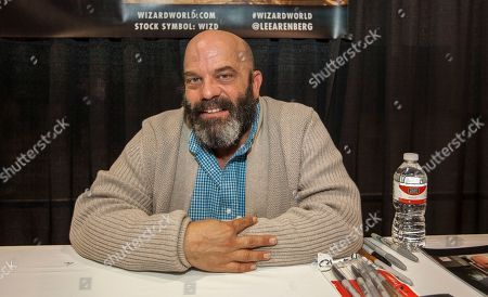 Stock Photo of Actor Lee Arenberg during the Wizard World Comic Con Fan Fest Chicago at the Donald E. Stephens Convention Center in Rosemont, IL on