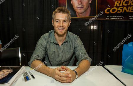 Stock Image of Actor Rick Cosnett during the Wizard World Comic Con Fan Fest Chicago at the Donald E. Stephens Convention Center in Rosemont, IL on