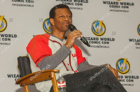 Actor Phil Lamarr during the Wizard World Comic Con Fan Fest Chicago at the Donald E. Stephens Convention Center in Rosemont, IL on