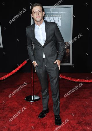 "Stock Image of Dave Patten arrives at the world premiere of ""Delivery Man"" at The El Capitan Theatre on in Los Angeles"