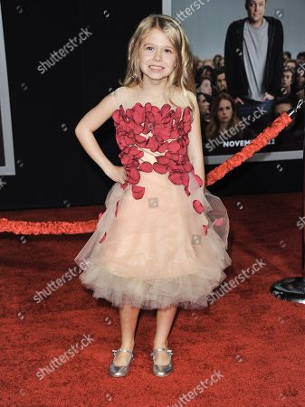 """Stock Picture of Erin Gerasimovich arrives at the world premiere of """"Delivery Man"""" at The El Capitan Theatre on in Los Angeles"""