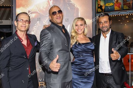 """Editorial picture of World Premiere of """"Riddick"""" - Arrivals, Los Angeles, USA - 28 Aug 2013"""