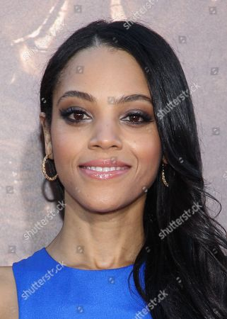 "Actress Bianca Lawson arrives at the world premiere of ""Riddick"" at the Mann Village Westwood Theater on in Los Angeles"