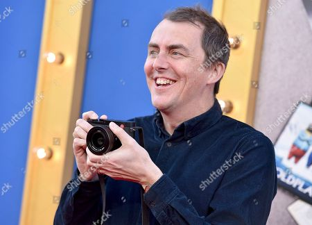 """Director/writer Garth Jennings arrives at the world premiere of """"Sing"""" at the Microsoft Theater, in Los Angeles"""