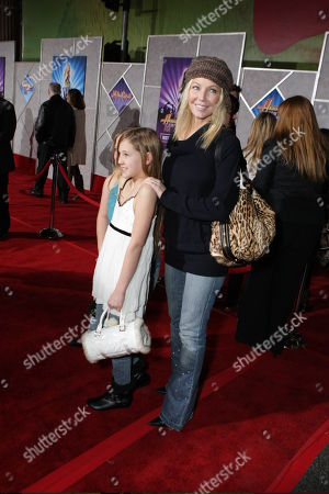 """JANUARY 17: Ava Elizabeth Sambora and Heather Locklear at the World Premiere of Walt Disney Pictures' """"Hannah Montana & Miley Cyrus: Best of Both World Concert"""" on at the El Capitan Theatre in Hollywood, CA"""