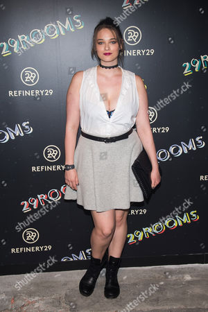 """Stock Photo of Jennie Runk attends Refinery29's """"29Rooms: Powered by People"""" opening night, in New York"""