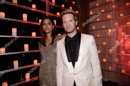 "Snoh Aalegra and Mayer Hawthorne seen at the after party for the ""AMY"" U.S. Premiere hosted by Lucian Grainge CBE, Universal Music Group and A24 at The Hollywood Roosevelt, in Hollywood, CA"