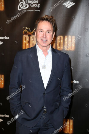 """Actor Davis Gaines poses during the arrivals for the opening night performance of """"End of the Rainbow"""" at Center Theatre Group/Ahmanson Theatre on in Los Angeles, Calif"""