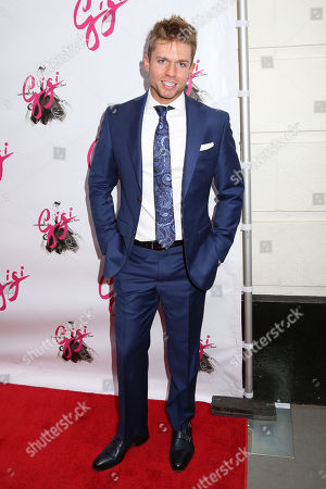 """Hunter Ryan Herdlicka attends the Broadway opening night of """"Gigi"""" at the Neil Simon Theatre, in New York"""