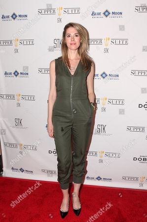 Lucy Owen seen at Mend SXSW After-party at Supper Suite By STK hosted by Blue Moon Brewing Co. on in Austin, Texas