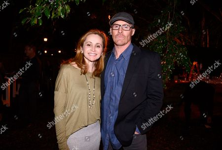 """Guest and Mark L. Smith seen at """"The Revenant"""" Party at MadeWorn hosted by Edward Norton, Shauna Robertson and Brett Ratner and sponsored by Bulleit Rye, in Los Angeles"""