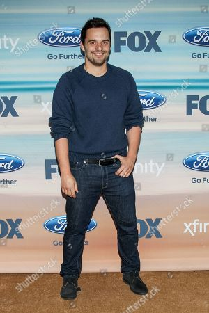 Jake M. Johnson attends the 2014 FOX Fall Eco-Casino party at The Bungalow on in Santa Monica, Calif