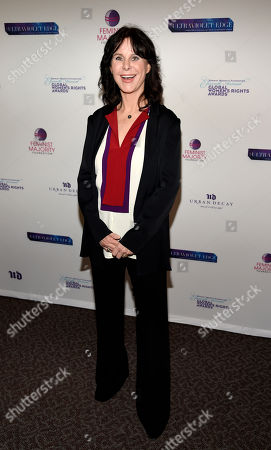 Mavis Leno poses at the 11th Annual Global Women's Rights Awards at the Directors Guild of America, in Los Angeles