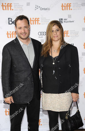 "Directors Robert Pulcini and Shari Springer Berman attend the ""Imogene"" premiere during the Toronto International Film Festival on in Toronto"