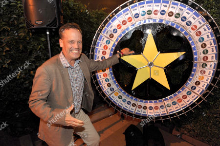 American Dad cast member Dee Bradley Baker spins the wheel for charity 2013 FOX Fall Eco-Casino Party, on in Santa Monica, Calif