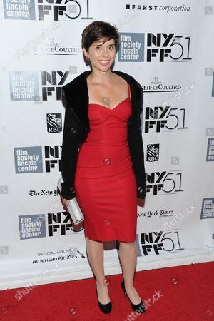"Actress Jeanine Serralles attends the premiere of ""Inside Llewyn Davis"" during the 51st New York Film Festival on in New York"