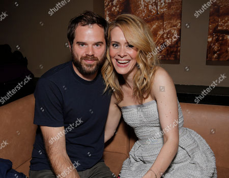 Sean Durkin and Sarah Paulson attend Fox Searchlight's Toronto International Film Festival Party on Saturday, September 7th, 2013 in Toronto, Canada