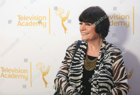 Jo Anne Worley arrives at the Television Academy's 66th Emmy Awards Performers Peer Group Celebration at the Montage Beverly Hills, in Beverly Hills, Calif