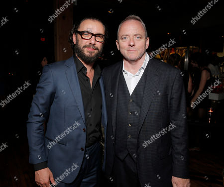 Director Michael Roskam and Screenwriter Dennis Lehane attend the after party for the premiere of Fox Serachlight's 'The Drop' during the 2014 Toronto International Film Festival at Princess of Wales Theatre on in Toronto, Canada