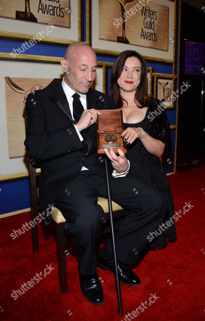 Editorial picture of 2014 Writers Guild Awards - Press Room, Los Angeles, USA - 1 Feb 2014
