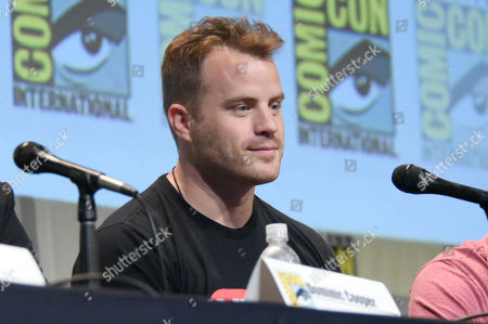"""Robert Kazinsky attends the """"Warcraft"""" panel on day 3 of Comic-Con International, in San Diego"""