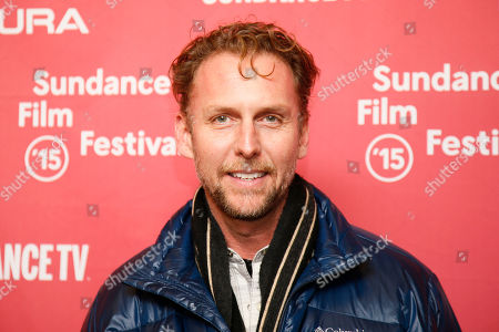 """Actor Jayson Warner Smith poses at the premiere of """"Mississippi Grind"""" during the 2015 Sundance Film Festival, in Park City, Utah"""