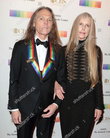 2016 Kennedy Center Honoree Timothy B. Schmit of the band The Eagles with his wife Jean Schmit attend the 39th Annual Kennedy Center Honors at The John F. Kennedy Center for the Performing Arts, in Washington, D.C