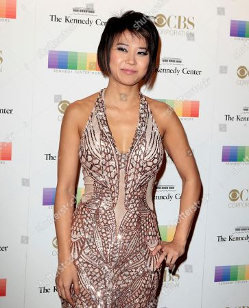 Yuja Wang attends the 39th Annual Kennedy Center Honors at The John F. Kennedy Center for the Performing Arts, in Washington, D.C