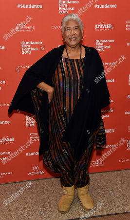 "Esther Scott, a cast member in ""The Birth of a Nation,"" poses at the premiere of the film at the 2016 Sundance Film Festival, in Park City, Utah"