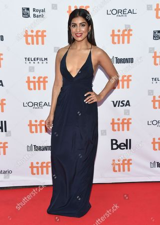 Pallavi Sharda arrives at the â?oeLionâ?? premiere on day 3 of the Toronto International Film Festival at the Princess of Wales Theatre, in Toronto