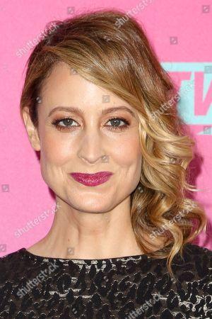 Stock Photo of Alexie Gilmore arrives at the 2016 TV Land Icon Awards at Barker Hangar, in Santa Monica, Calif