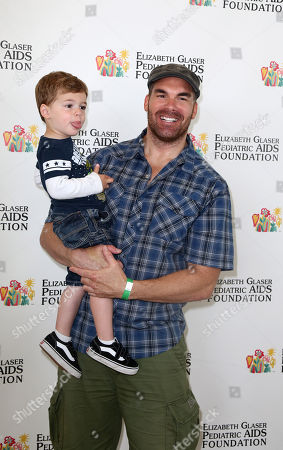 """Brandon Molale arrives at Elizabeth Glaser Pediatric AIDS Foundation's 24th Annual """"A Time for Heroes"""" event on in Los Angeles"""
