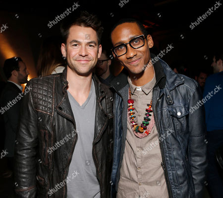 Kyle Howard and UgandaProject's Griffin Matthews attend the 3rd Annual Witness Uganda Concert Presented by Siren Studios to Benefit UgandaProject on in Los Angeles, California
