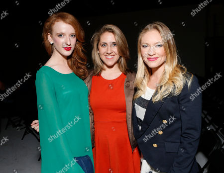 Stock Photo of Laura Long, Melissa Haze and Jessica Lee Wrabel attend the 3rd Annual Witness Uganda Concert Presented by Siren Studios to Benefit UgandaProject on in Los Angeles, California