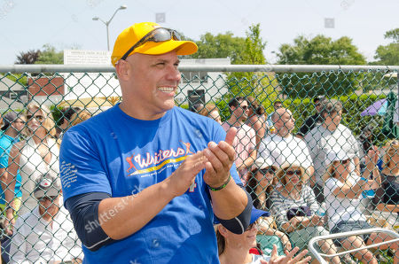 Editorial picture of 66th Annual Artists and Writers Softball Game, East Hampton, USA - 16 Aug 2014