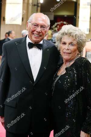 Irwin Winkler and Margo Winkler arrive at the Oscars, at the Dolby Theatre in Los Angeles