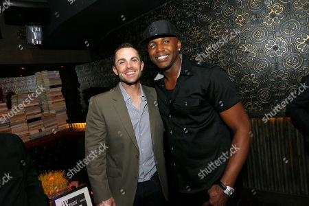 David Wright and Cliff Floyd attend atmosphere at ACES All Stars 2013 Celebrate with GREY GOOSE Vodka at Marquee, on in New York. ACES, Inc. hosts this annual party to celebrate clients on 2013 MLB All Star Roster as well as legendary ACES clients and All Stars