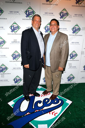 Mitchell Modell and Charles Castaneda attend ACES All Stars 2013 Celebrate with GREY GOOSE Vodka at Marquee, on in New York. ACES, Inc. hosts this annual party to celebrate clients on 2013 MLB All Star Roster as well as legendary ACES clients and All Stars