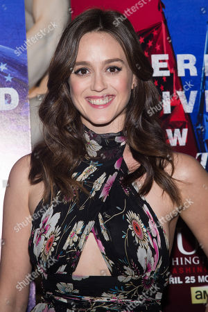 "Heather Lind attends AMC's ""Turn: Washington's Spies"" season three premiere event at the New York Historical Society, in New York"
