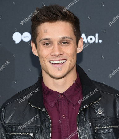 Actor Tim Granaderos attends the AOL NewFront at the South Street Seaport, in New York